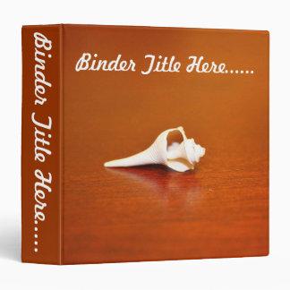 "Tiny Shell 1.5"" 3 Ring Binder"