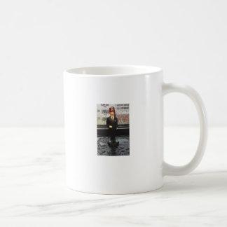 Tiny Shriner Coffee Cup Classic White Coffee Mug