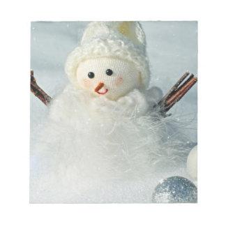 Tiny Snowman Notepad