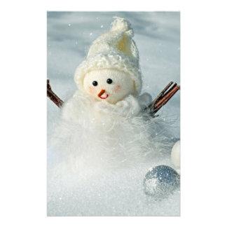Tiny Snowman Stationery