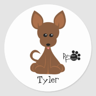Tiny Round Sticker