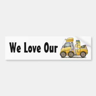 Tiny Tear Drop Camper Bumper Sticker
