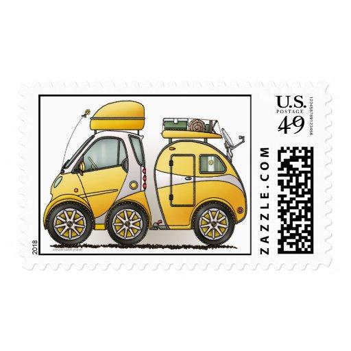Tiny Tear Drop Camper Stamps