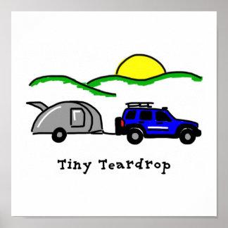 Tiny Teardrops Poster