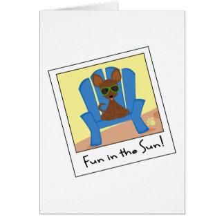 Tiny the Chihuahua Card