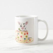 """Tiny""  The Teacup Pig Coffee Mug"