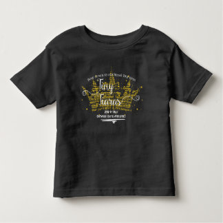 TINY TIARAS: FRONT LOGO TODDLER T-SHIRT