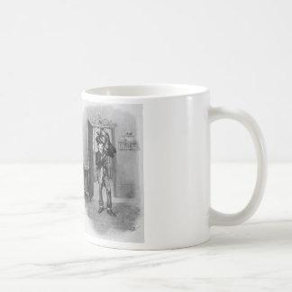 Tiny Tim and Bob Cratchit. Coffee Mug