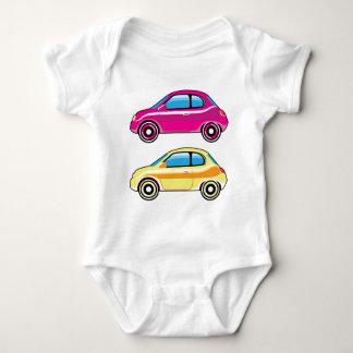 Tiny Tiny Small Car mini vehicle Vector Baby Bodysuit