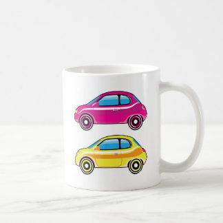 Tiny Tiny Small Car mini vehicle Vector Coffee Mug