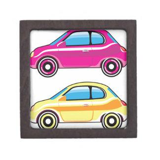 Tiny Tiny Small Car mini vehicle Vector Keepsake Box