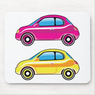 Tiny Tiny Small Car mini vehicle Vector Mouse Pad