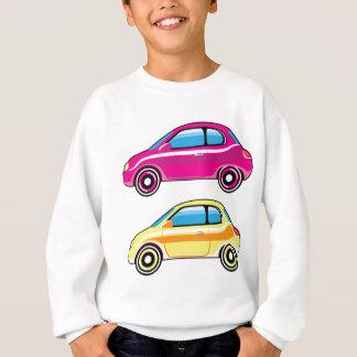 Tiny Tiny Small Car mini vehicle Vector Sweatshirt