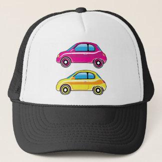 Tiny Tiny Small Car mini vehicle Vector Trucker Hat
