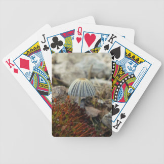 Tiny Toadstool Bicycle Playing Cards