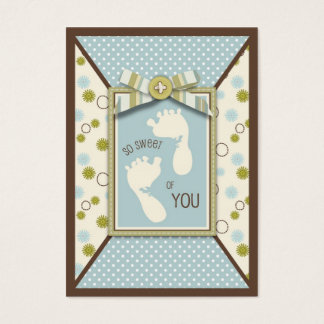 Tiny Toes TY Gift Tag