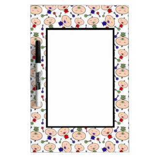 Tiny Tots Baby Pattern Dry-Erase Board