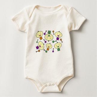Tiny Tots Baby Pattern Romper
