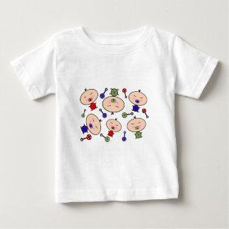 Tiny Tots Baby Pattern T Shirt