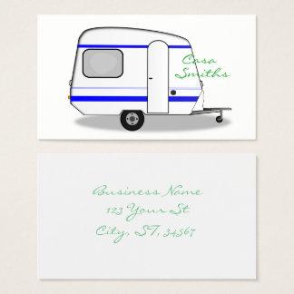 Tiny trailer gypsy caravan Thunder_Cove any color Business Card