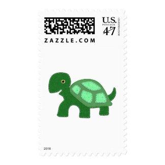 Tiny Turtle Applique Postage