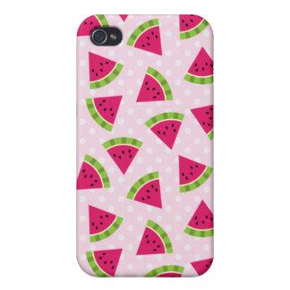 Tiny Watermelon Slices iPhone 4 Case