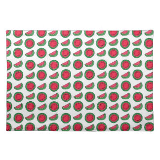 tiny watermelons cloth placemat