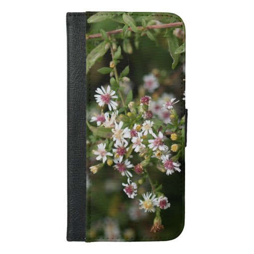 Tiny White Flowers iPhone 6/6s Plus Wallet Case