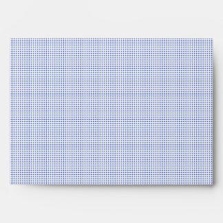 Tiny White Polka Dot customizable envelope