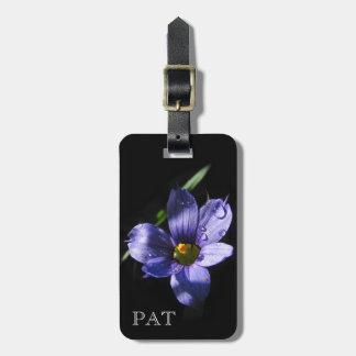 Tiny Wildflower ~ Luggage tag