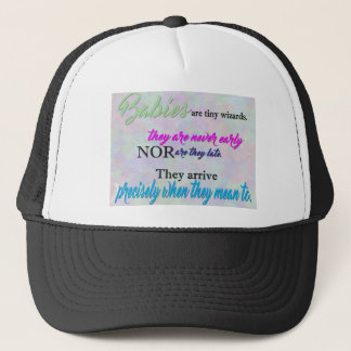 Tiny Wizards Trucker Hat