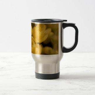 Tiny Yellow Blossoms Travel Mug