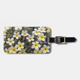 Tiny Yellow Flowers Bag Tag