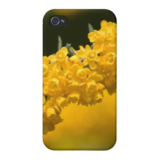 Tiny Yellow Flowers iPhone 4 Case