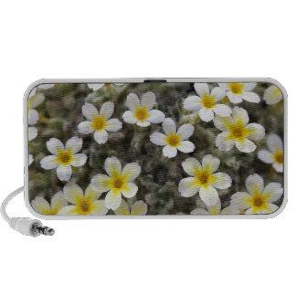 Tiny Yellow Flowers Mini Speaker