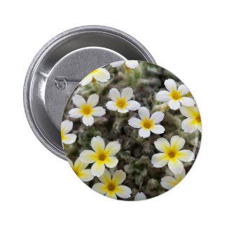 Tiny Yellow Flowers Pinback Button