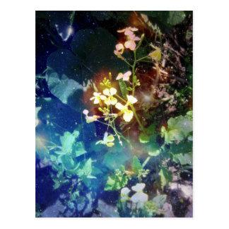 Tiny Yellow Flowers Postcard