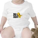 Tinysaurus rex baby bodysuit