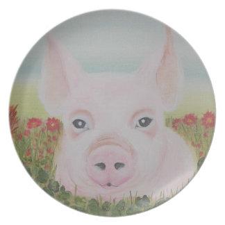 TinyTot Piglet Plate