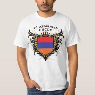 Tío armenio del número uno playera