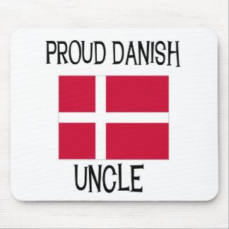 Tío danés orgulloso alfombrilla de ratones