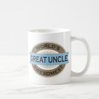 Tío de Awesomest de los mundos gran Taza Clásica