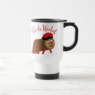 Tio De Nadal Travel Mug