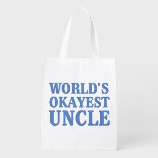 Tío de Okayest del mundo Bolsas De La Compra