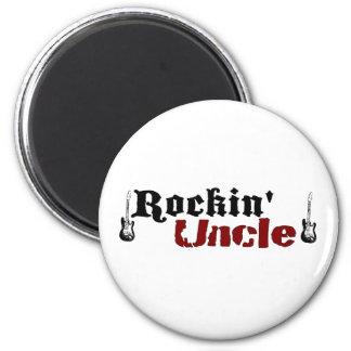 Tío de Rockin Imán Redondo 5 Cm
