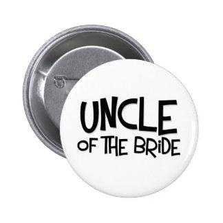 Tío del inconformista de la novia pin