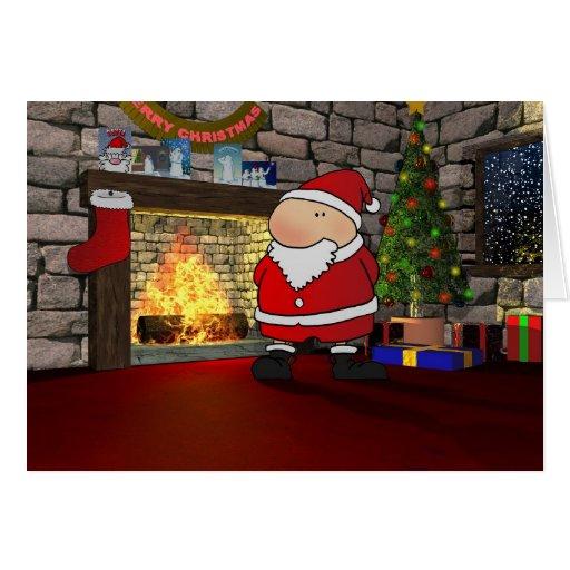 Tío del navidad tarjeta de felicitación