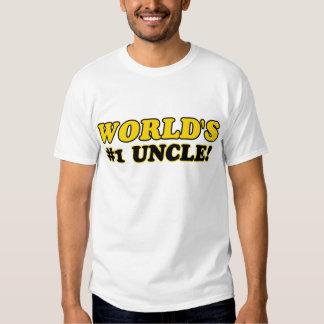 Tío del número 1 del mundo playera