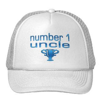 Tío del número 1 gorro