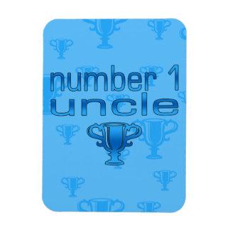 Tío del número 1 imán